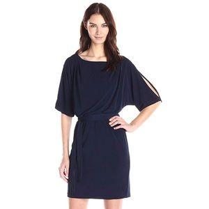 Jessica Simpson Cold Shoulder Dress w/ Tie Waist